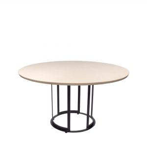 alpine-white-round-quartz -dining-table-4-to-6-pax-decasa-marble-dia-1350mm-1
